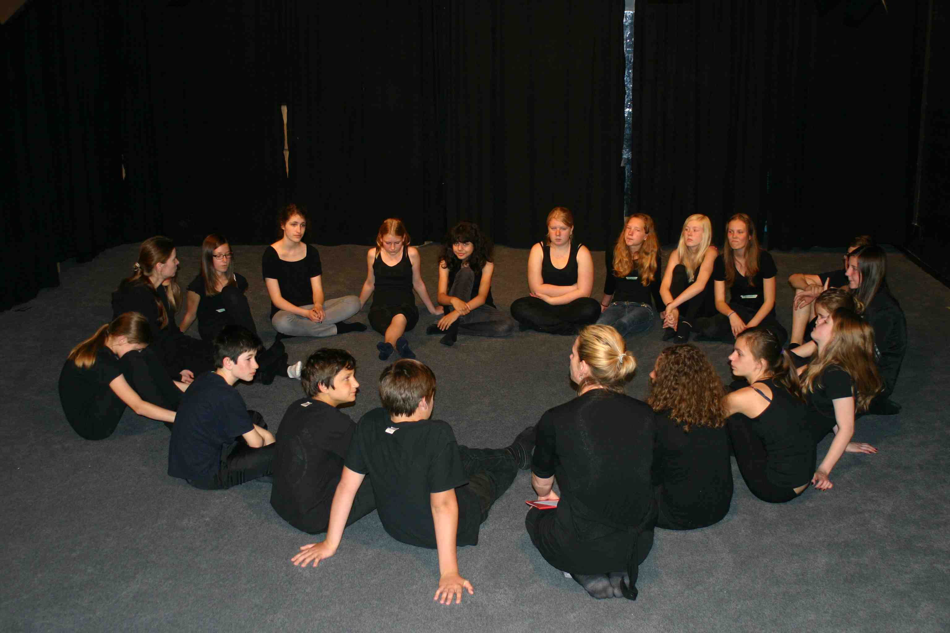 Start eines Theater-Projektes