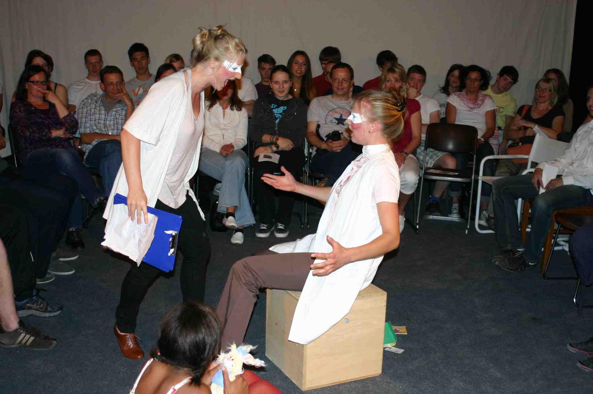 "9.1 Gestik – Tutorial zum ""Kursbuch Theater machen"""