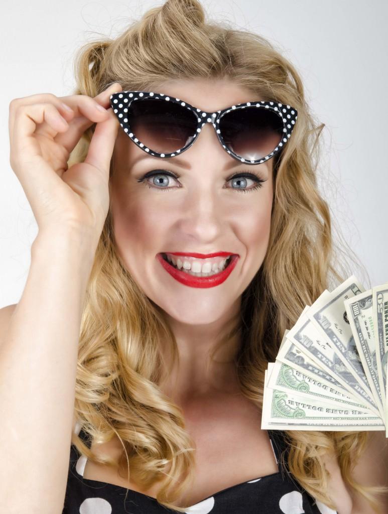 Nadine-Petry-als-Model