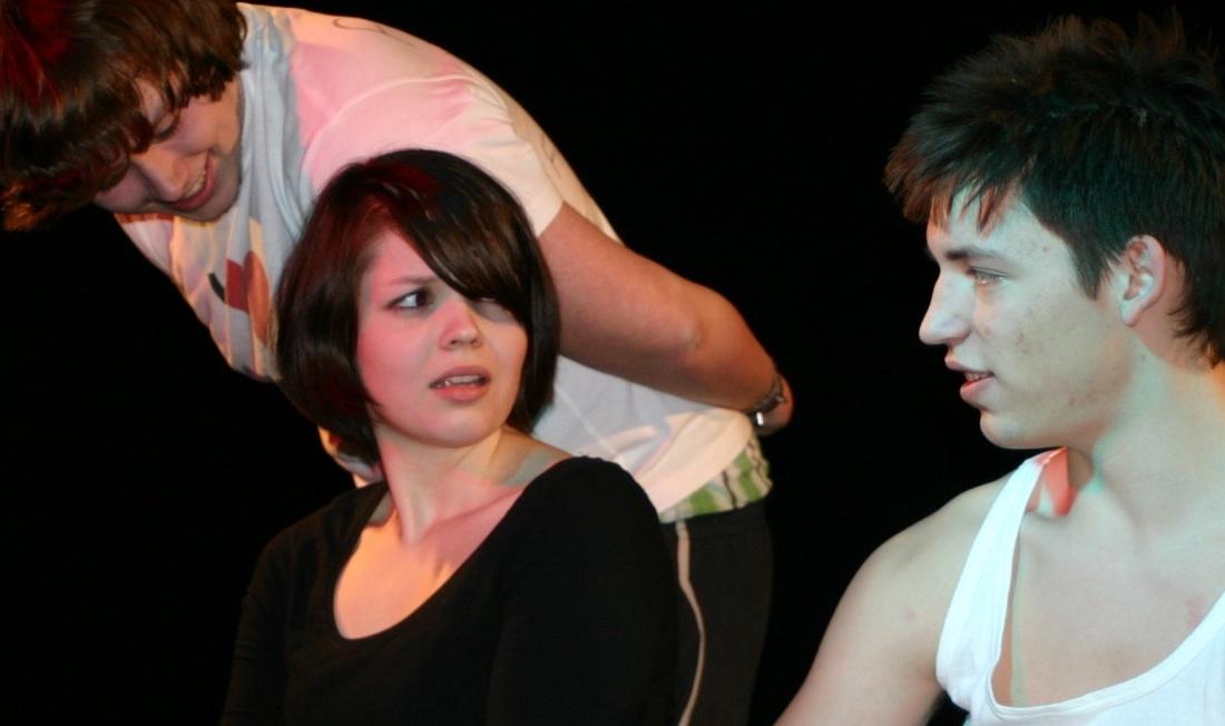 Theaterunterricht ist mimischer Ausdruck