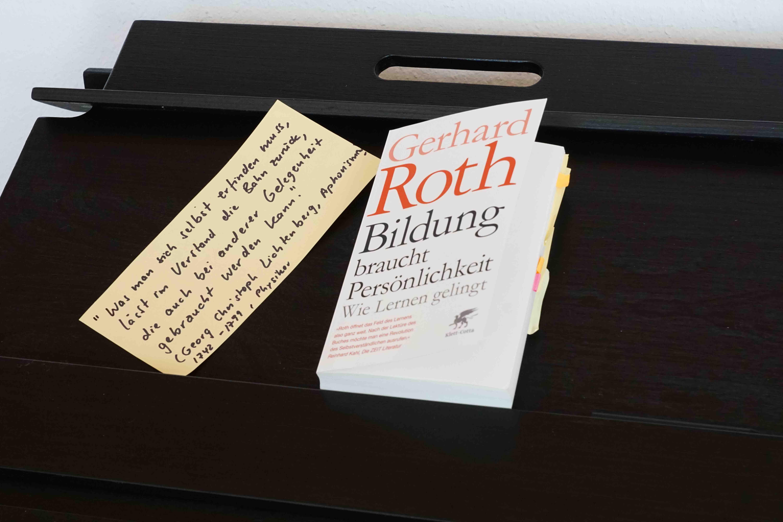 Roth (2015): Bildung braucht Persönlichkeit