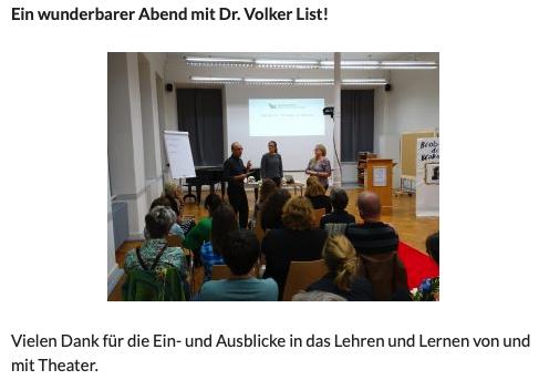 aisthetos-akademie Vortrag Dr. Volker List
