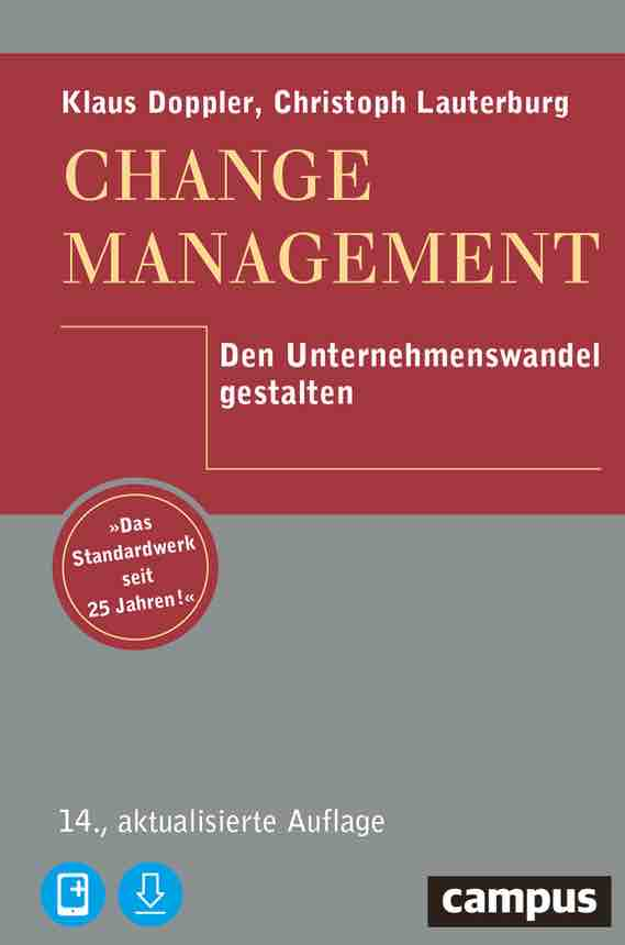 Doppler: Lauterburg 2019 Change Management Cover
