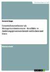 Roland Kops Unternehmenstheater als Managementinstrument
